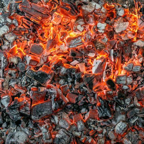 Grillen, Glut, Feuer