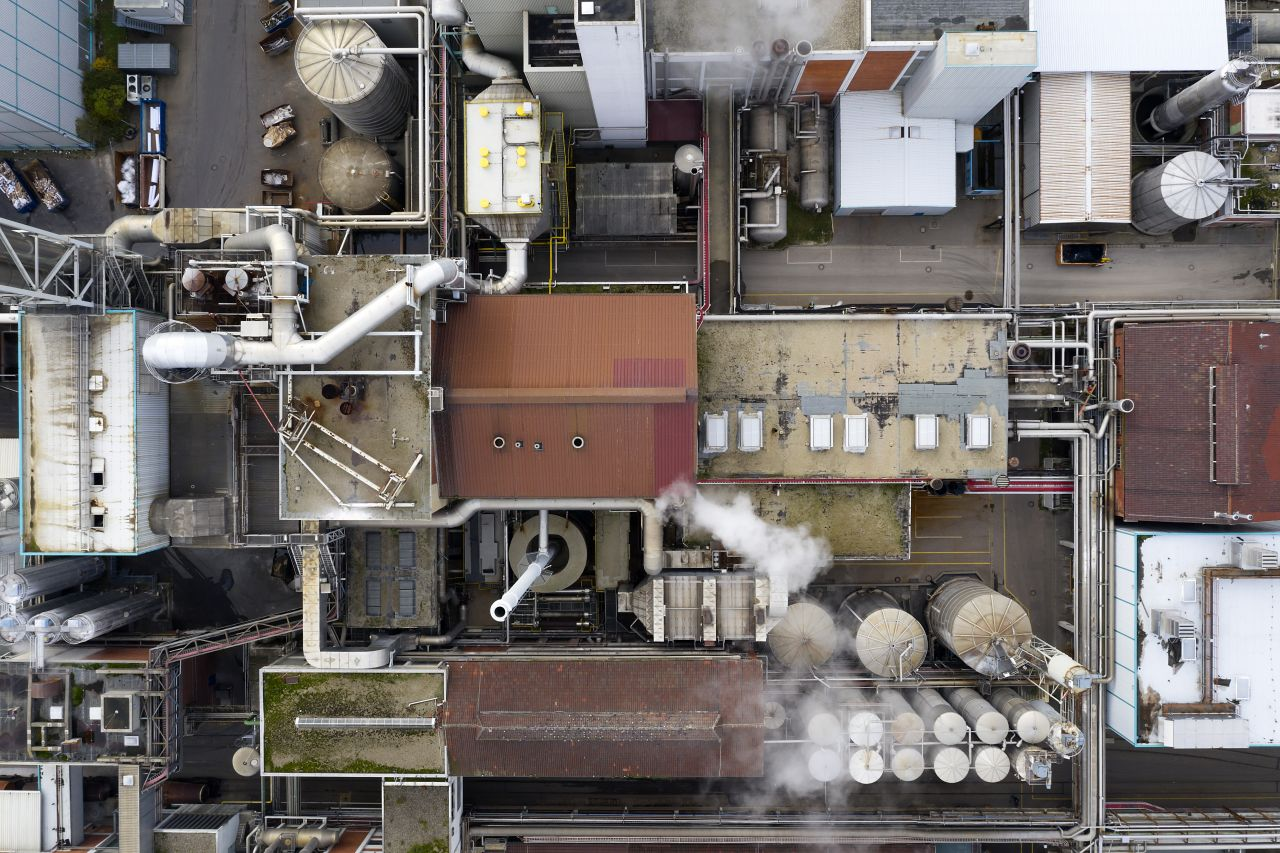 CO2, Industrie