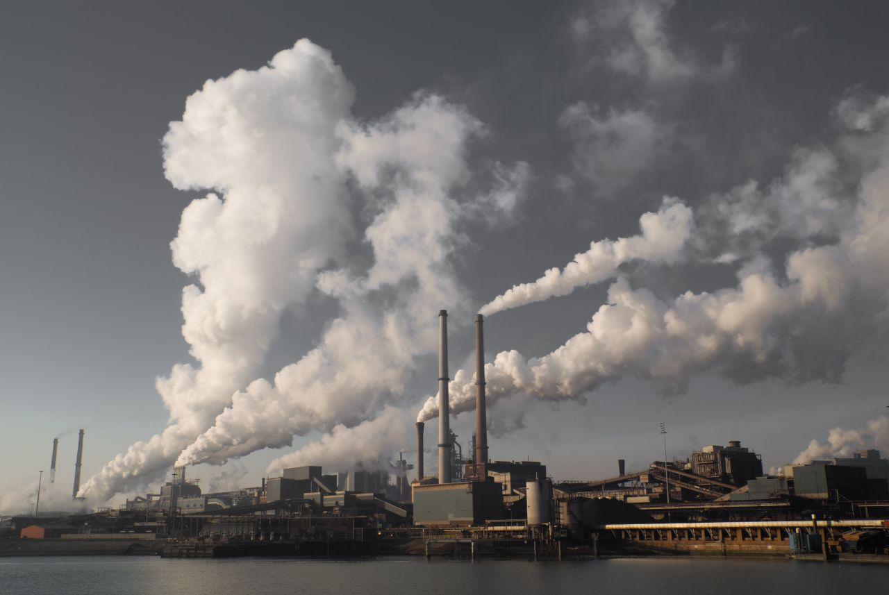 Stromkraftwerk CO2-Ausstoß