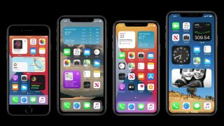 So sehen die neuen Widgets in iOS 14 auf dem iPhone-Homescreen aus.