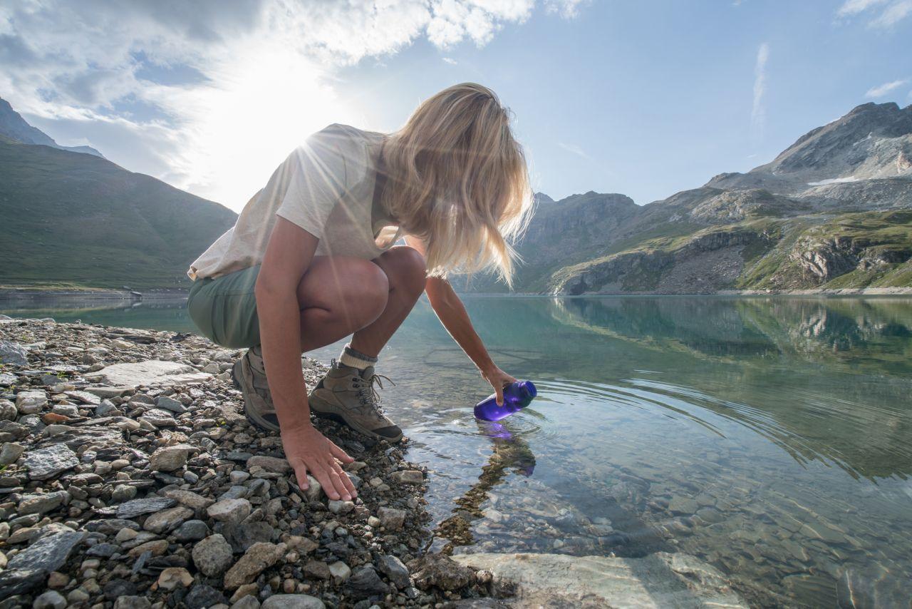 Nachhaltig reisen ohne Plastikflasche