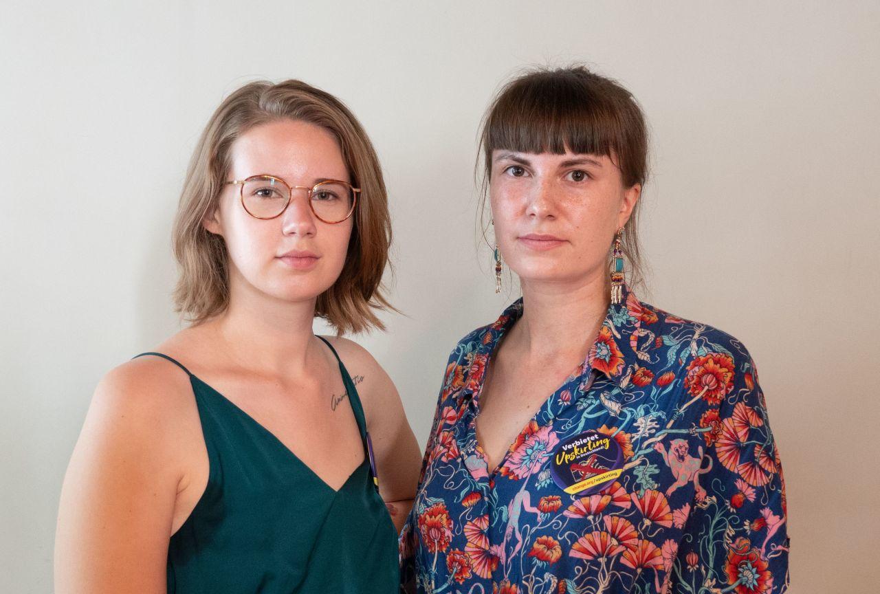 """Hanna Seidel und Ida Marie Sassenberg starteten die erfolgreiche Petition """"Verbietet Upskirting""""."""