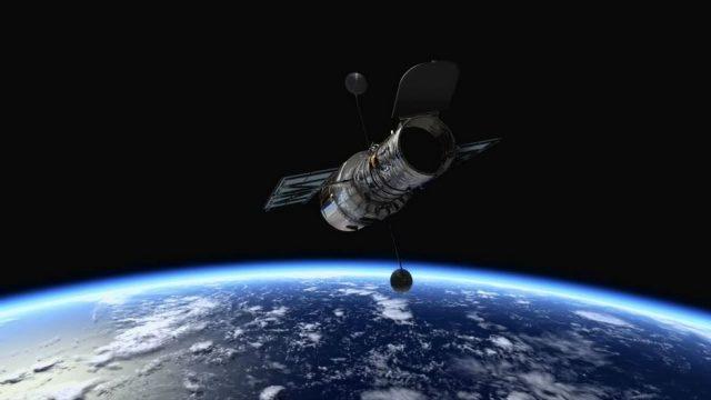 Satelliten für die GPS-Navigation