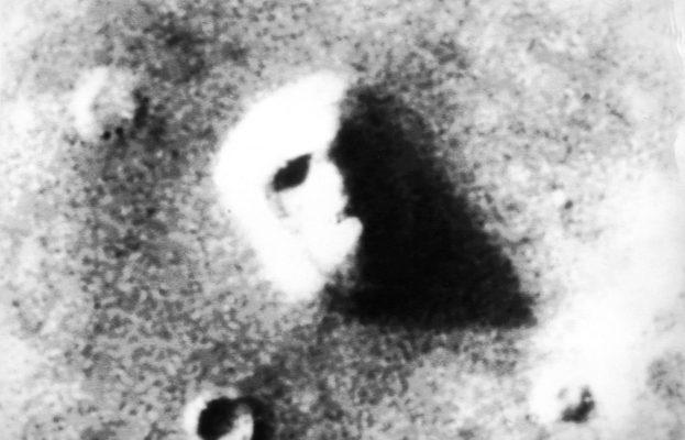 Sience Fiction Fans sahen das Trugbild auf dem Mars als Beweis für intelligentes Leben.