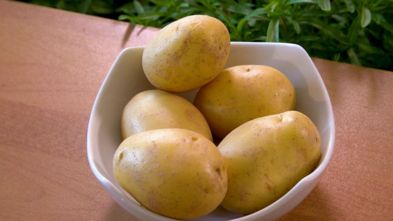 Schale Kartoffeln