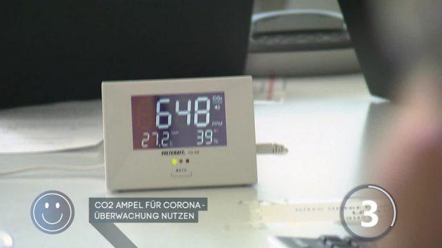 CO2-Ampel für Corona-Überwachung nutzen