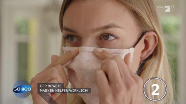 Der Beweis: Masken helfen wirklich!