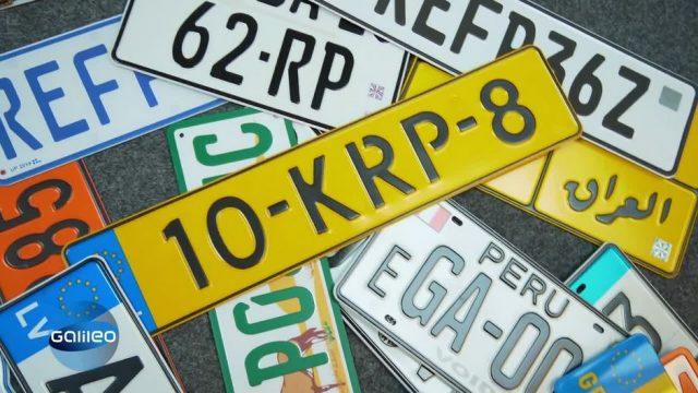 Exportschlager Autokennzeichen: Mit einer Idee zum Welterfolg