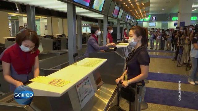 """Flughafen verlost """"Fake-Flugtickets"""" - aber warum?"""