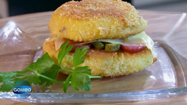 Kitchen Moves: Sushi & Burger aus Kartoffeln