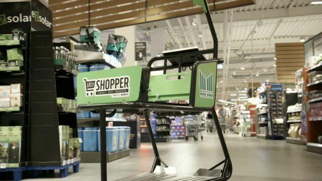 Mit Scanner, Tablet und Kasse: Was kann der modernste Einkaufswagen?