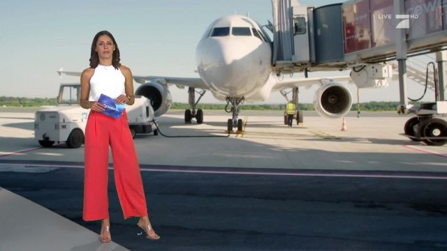 Mittwoch: Experiment: Fliegen zu Corona-Zeiten