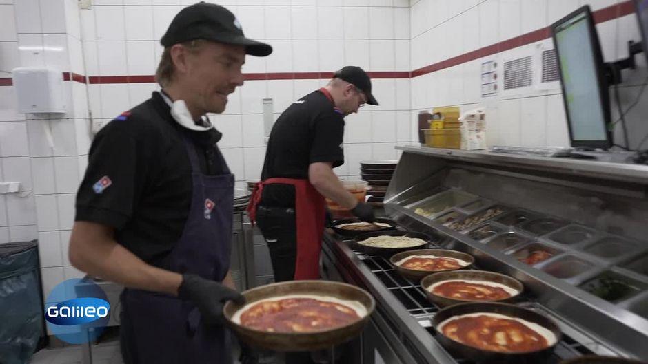 Wie anstrengend ist der Alltag bei Pizzalieferdiensten?