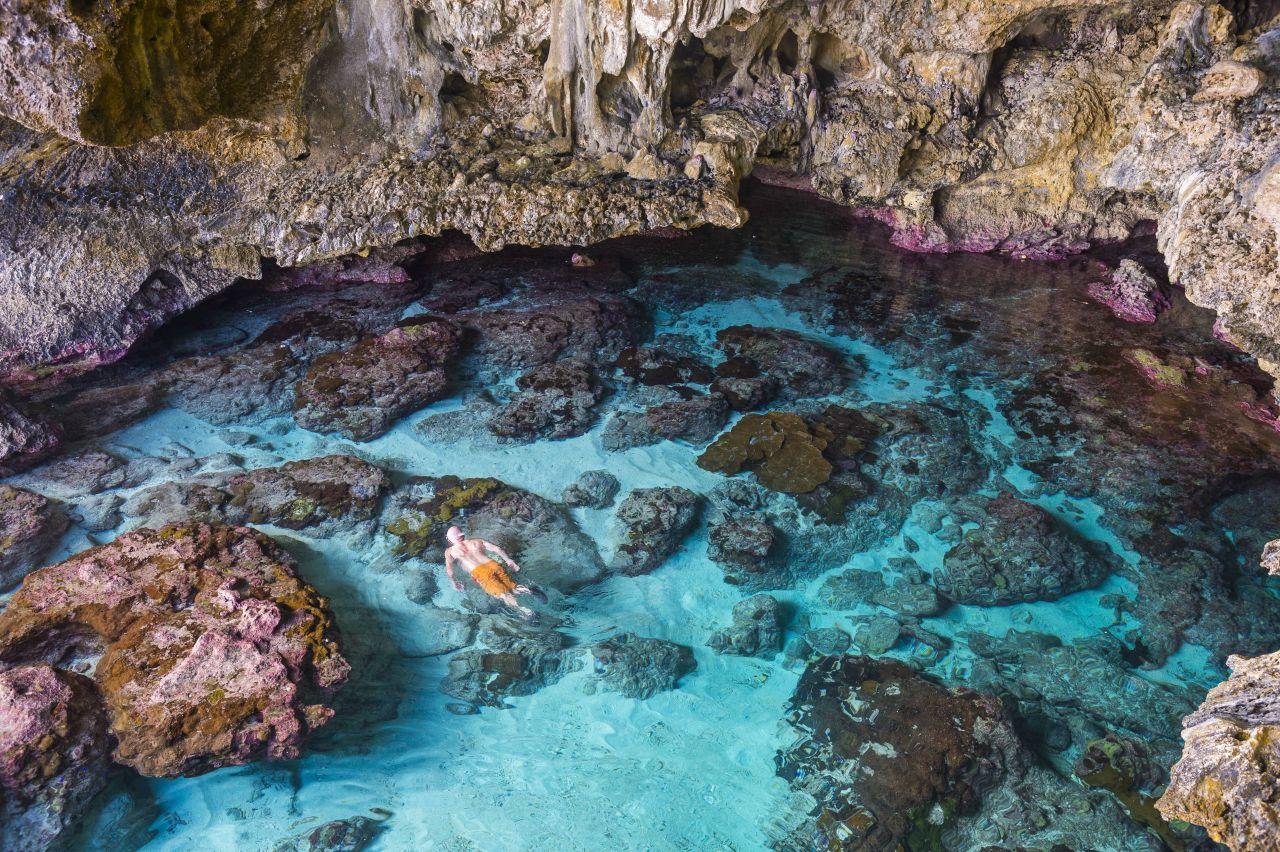 Avaiki-Höhle Alofi Niue