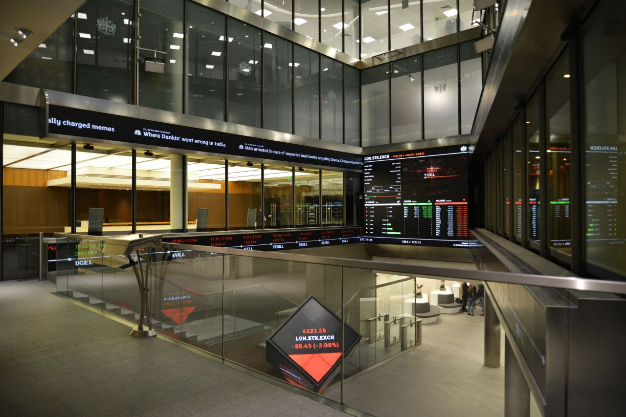 Platz 5: Die Londoner Börse.