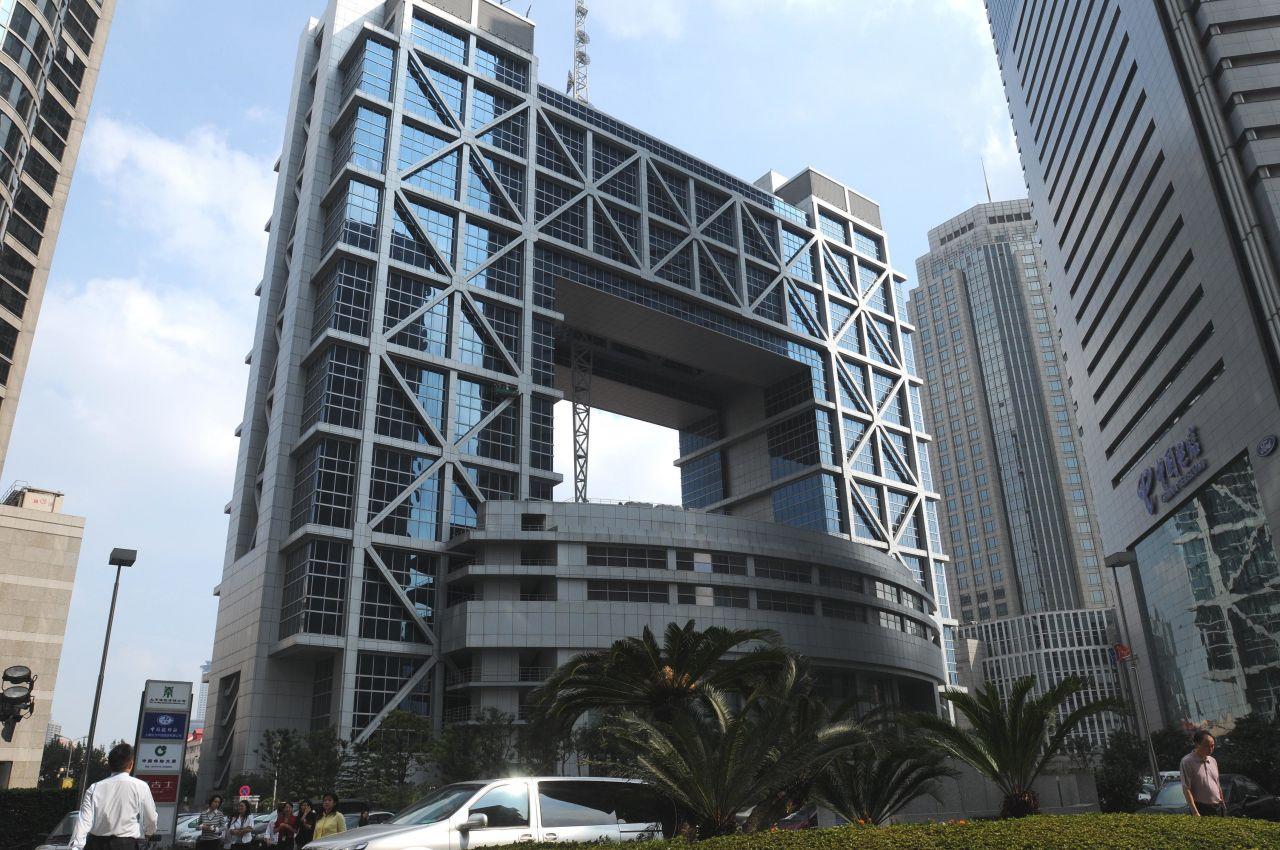 Die viertgrößte Börse der Welt steht in Shanghai.