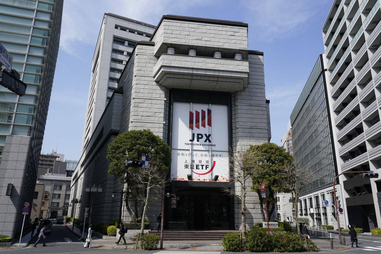 Die drittgrößte Börse der Welt in Tokio.