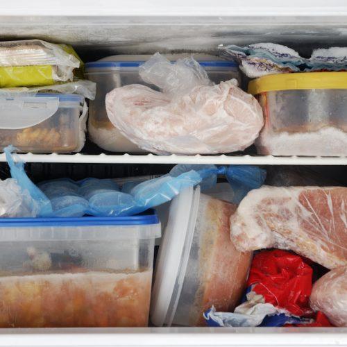 Gefierbrand an Lebensmitteln aus dem Eisfach