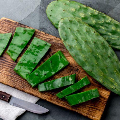 In Mexiko sind Kakteen ein beliebtes Lebensmittel.