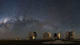 Das Very Large Telescope (VTL)