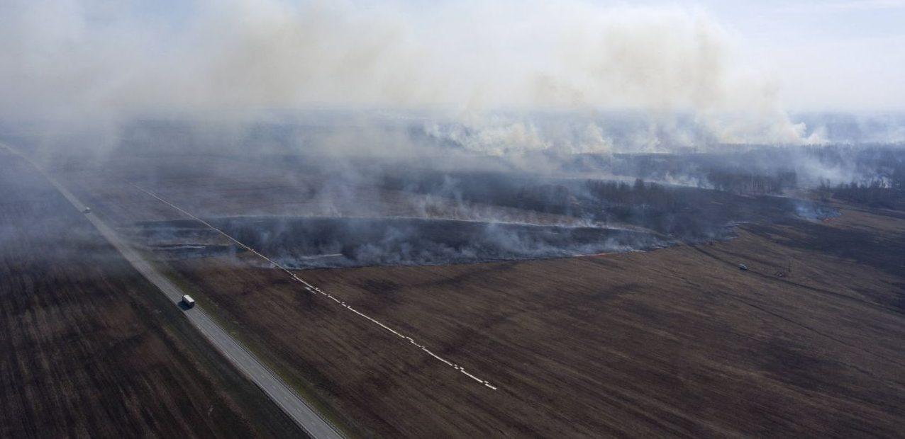 Waldbrände wüten in Sibirien