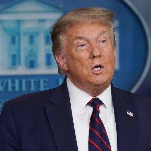 Trump erntet viel Gelächter für seine Prahlerei