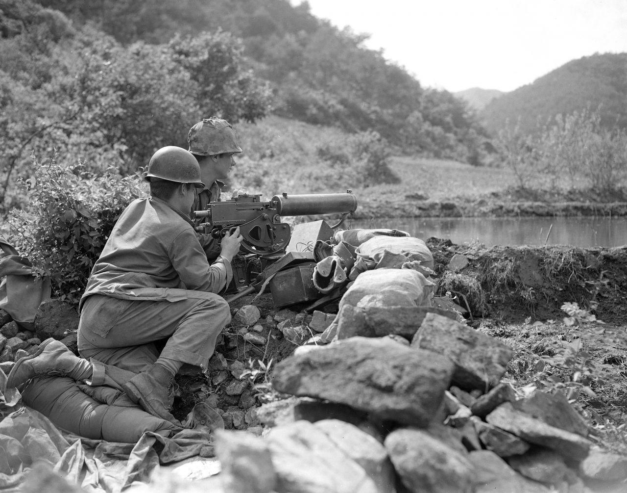 Soldaten im Koreakrieg