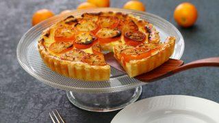 Kuchen mit Kumquats