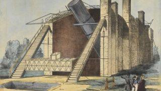 Das ehemalige Spiegelteleskop Leviathan in Irland
