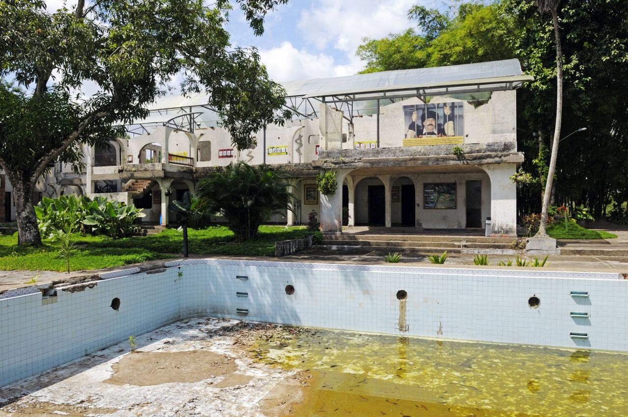Museum im ehemaligen Landsitz von Pablo Escobar