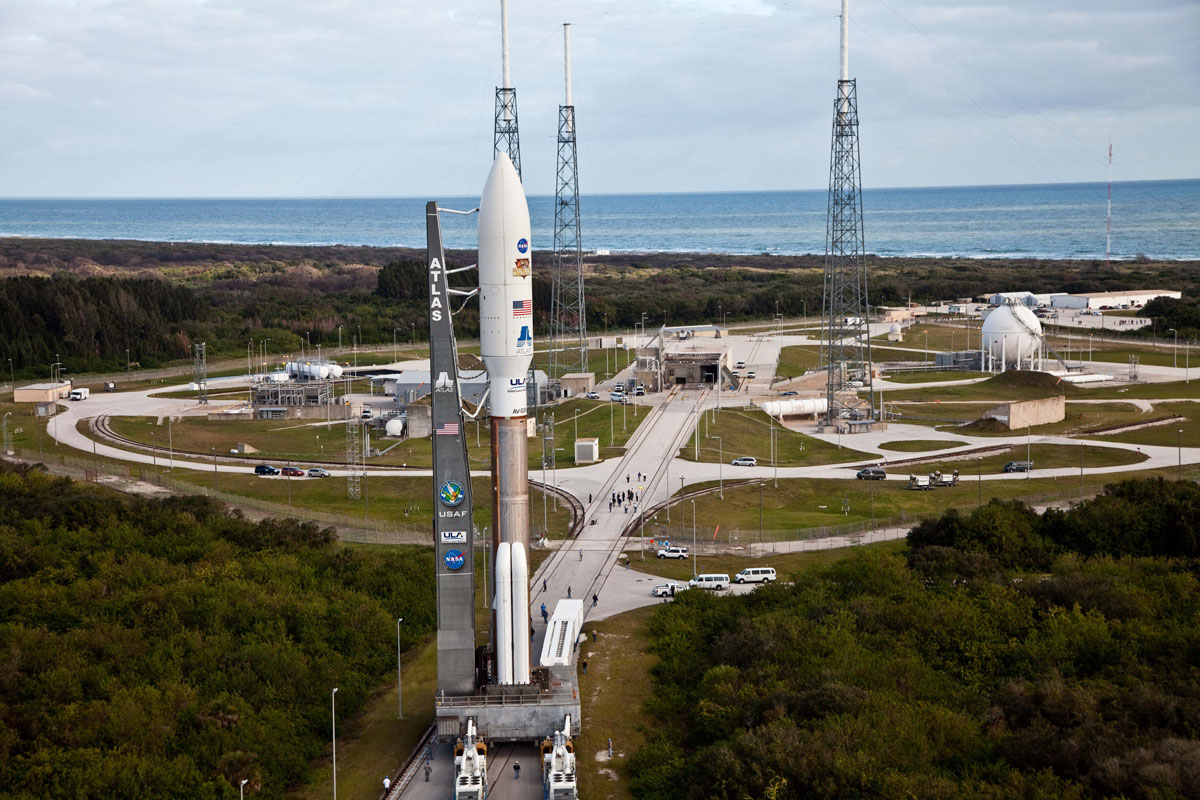 Die Schwerlastrakete Atlas V