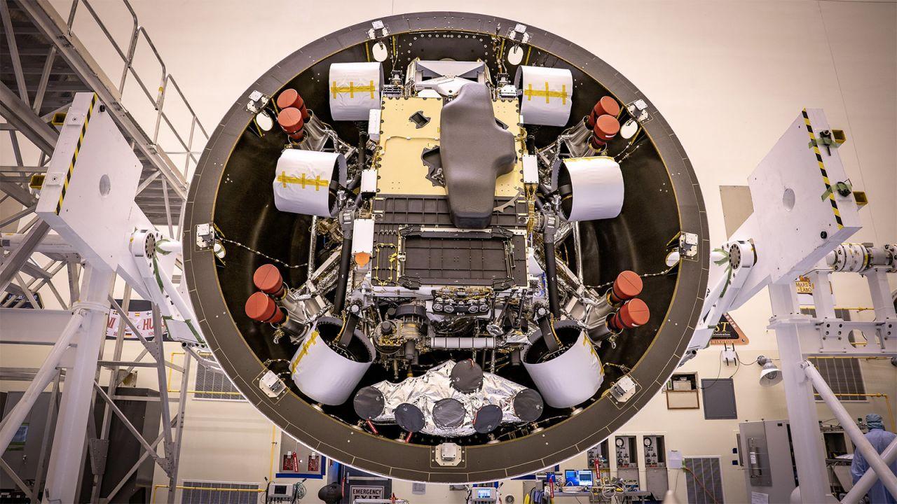 Der eingepackte Perseverance-Rover