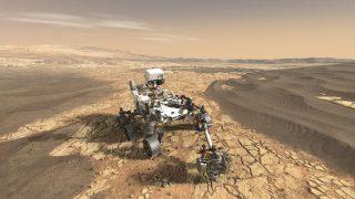 Der NASA-Rover Perseverance