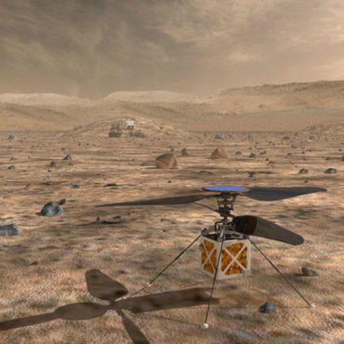 Der Mars-Helikopter Ingenuity ist der neue Star auf dem Mars.