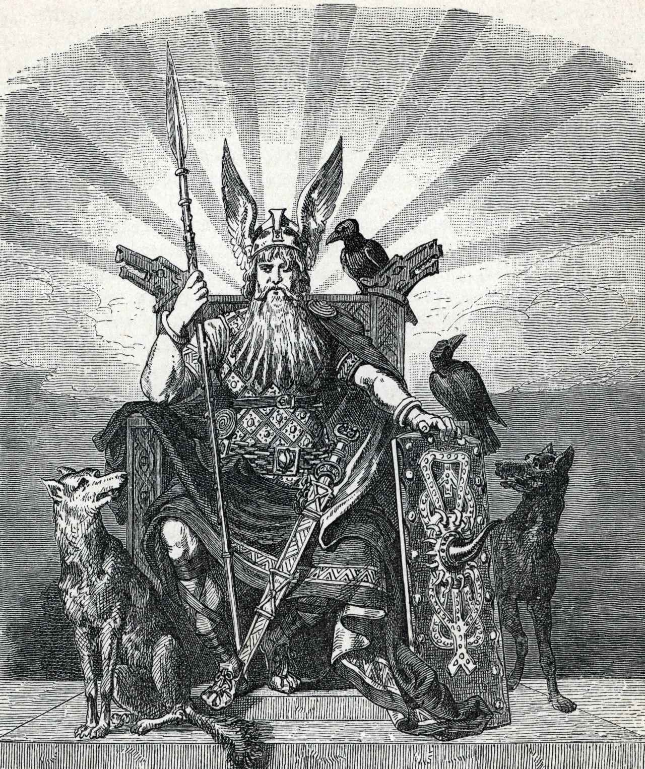 Gott Odin