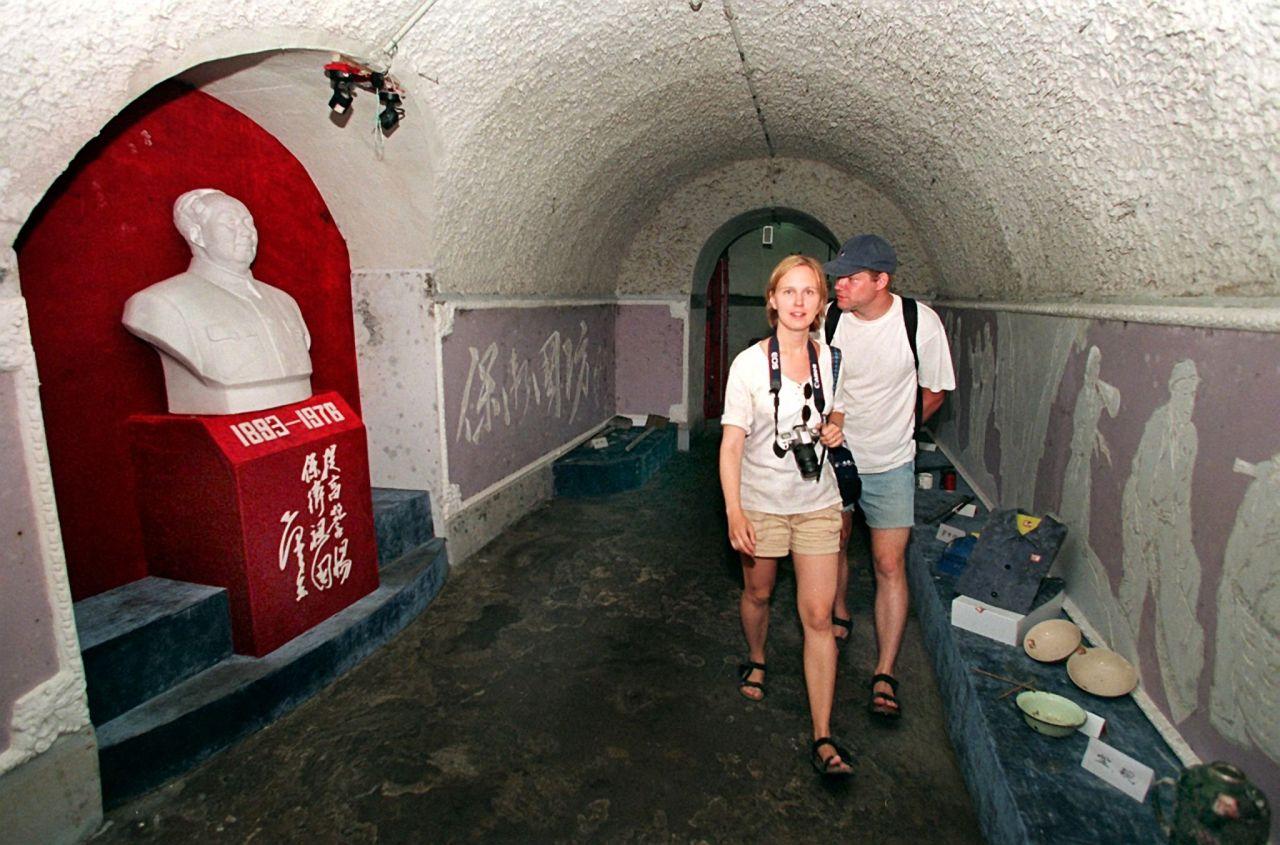 In Peking leben im Untergrund großteils Menschen aus den ärmeren Einkommensschichten.
