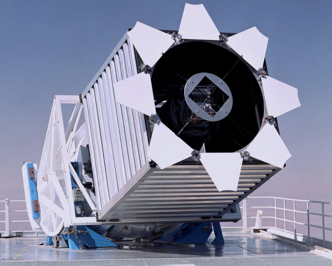 Das SDSS-Teleskop am Apache Point Observatorium in Neu Mexiko, USA