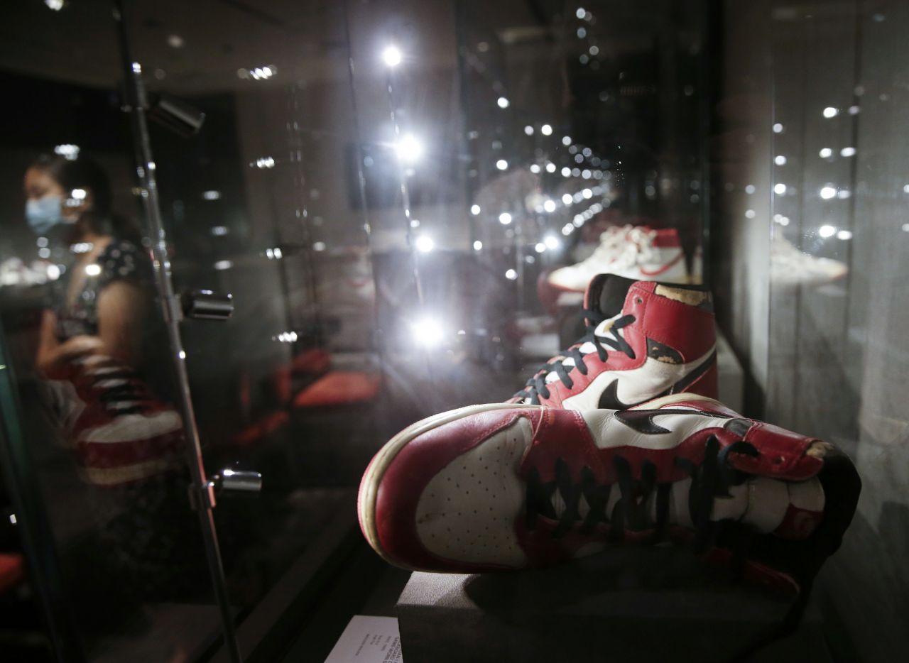 Michael Jordons Sneaker aus dem Jahr 1985