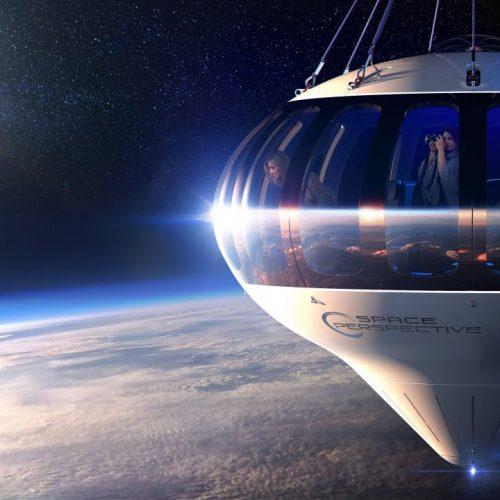 Mit dem Ballon in die Stratosphäre: Space Perspective möchte Reisen an den Rand des Universums anbieten.