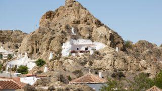In Spanien in der Provinz Granada leben heute noch Menschen in sogenannten Wohnhöhlen.