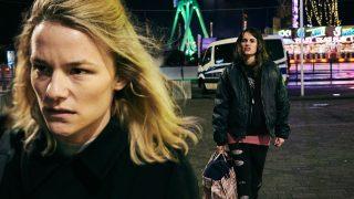 """Filmszene aus """"Der Boden unter den Füßen"""" mit Pia Hierzegger und Valerie Pachner"""