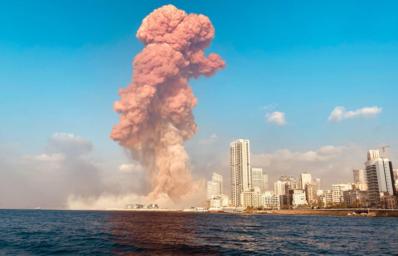 Eine große Explosion erschütterte die libanesische Hauptstadt Beirut. Ursache könnte eine große Menge an Ammoniumnitrat sein. Was ist das für ein Stoff?