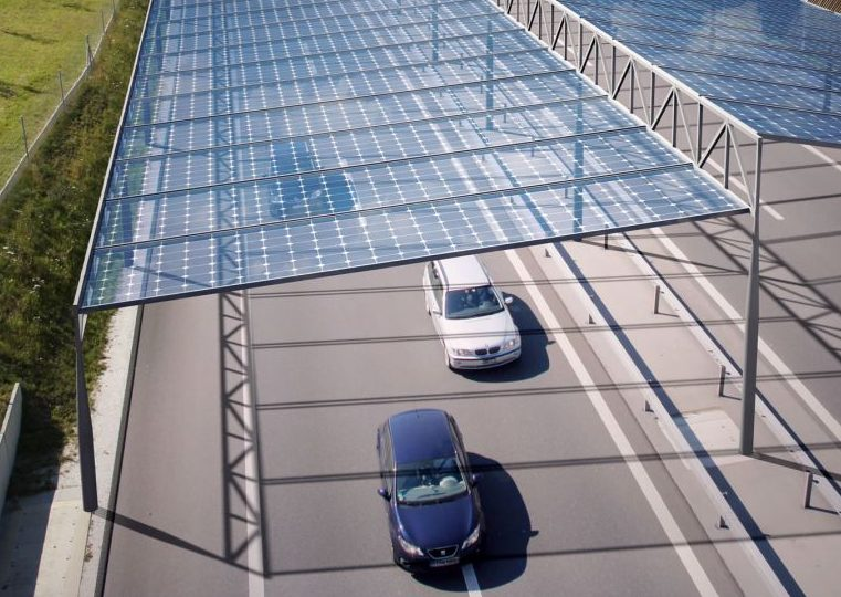 Solardach Grafik