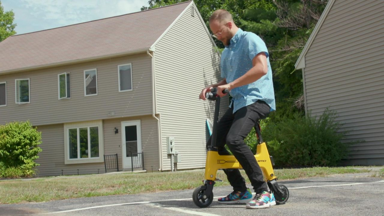 Wir testen das Falt-E-Bike