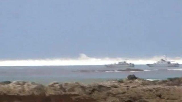 Amateurvideo: Überlebenskampf im Tsunami