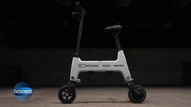 G-Testet: Das kleinste E-Bike der Welt