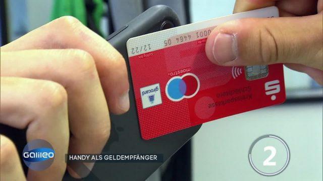 Handy als Geldempfänger?