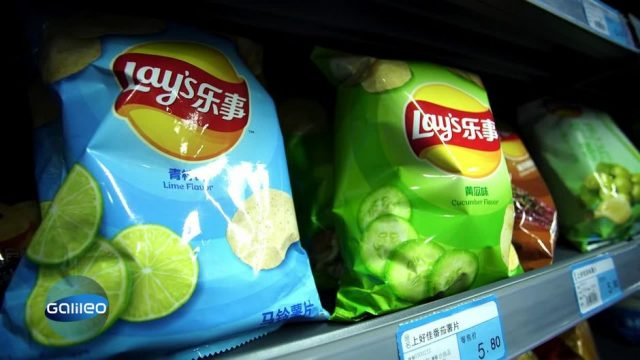 Kekse mit Bohnenfüllung & Chips mit Traubengeschmack: So snackt die Welt