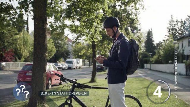 McDonald's öffnet Drive-Ins auch für Fahrräder