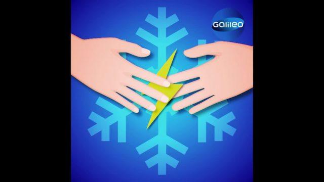 Warum bekommen wir im Winter häufig einen Stromschlag?